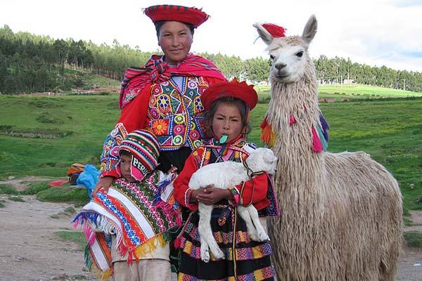 El traje típico de Perú