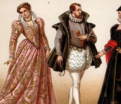 Vestidos tradicionales franceses for Entrantes tipicos franceses