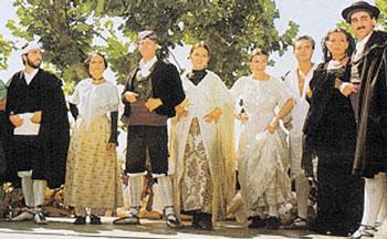 Vestidos franceses tipicos for Tipico de francia
