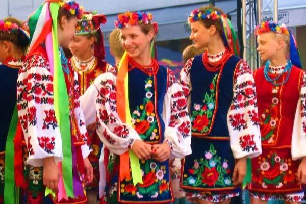 Traje típico ucraniano