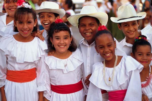Traje Típico Puerto Rico Hombre Y Mujer