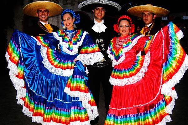 Traje típico de Jalisco, México